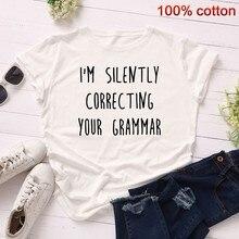 GUMPRUN Summer Women Letter Print T Shirt Short Sleeve Slim Fit Casual Tshirt Ladies Streetwear Trend Aesthetic Tops