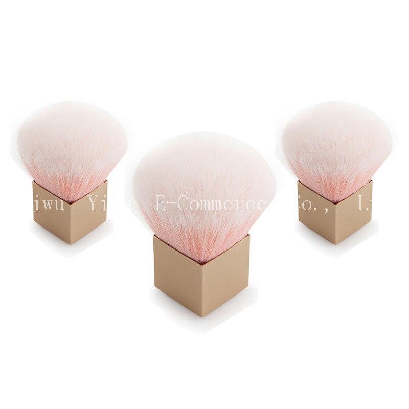 3PCS New Pink Square Foundation Brush Soft Flat Cream Makeup Brushes Professional Wonderful Women Cosmetic Make-up Brush