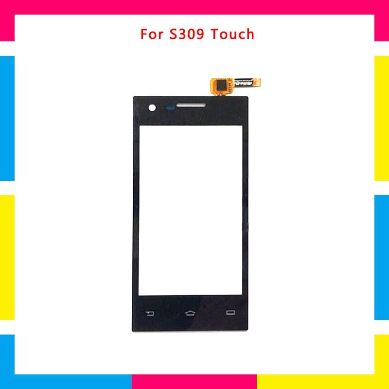 Remplacement de haute qualité Écran Tactile Digitizer Capteur Verre Externe Panneau Objectif Pour Philips S309
