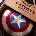 Капитан Америка 1:1 полностью металлический щит капитана Америки щит 1:1 алюминиевого сплава мстители альянс Все металлические версии фильма
