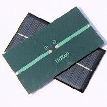 Promotion 200PCS/Lot 6V 1W Mini Solar Cell Solar Panel Easy DIY Solar Applications/Charger/Light/Toy High Quality Education Kits