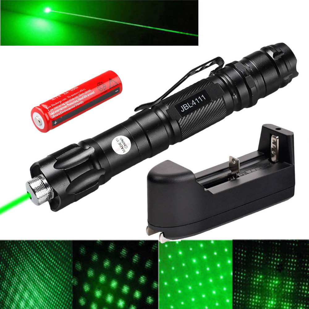 Powerful 532nm 5mw Green Laser Flashlight Pointer Pen Visible Beam Lazer 18650 Rechargeable Battery Smart Charger automatic touchless sensor waterfall bathroom sink vessel faucet oil rubbed bronze