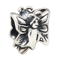 925 Sterling Silver Angel girl bead Charm Beads Fit Original Brand Bracelets For Gift Womnen DIY Bead Jewelry Making