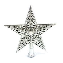 2018 Top Star Tree Star Five-Pointed Star For Christmas Tree Christmas Ornament Christmas Gift(China)