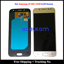 100% tested Working AMOLED For SAMSUNG J5 2017 J530 LCD for Samsung J530 J5 2017 Display Screen Touch Digitizer Assembly(China)