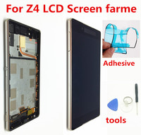 ORIGINAL 5.2 IPS For SONY Xperia Z4 LCD Touch Screen For SONY Xperia Z3+ Z4 LCD Display Screen Replacement E6533 E6553 Frame