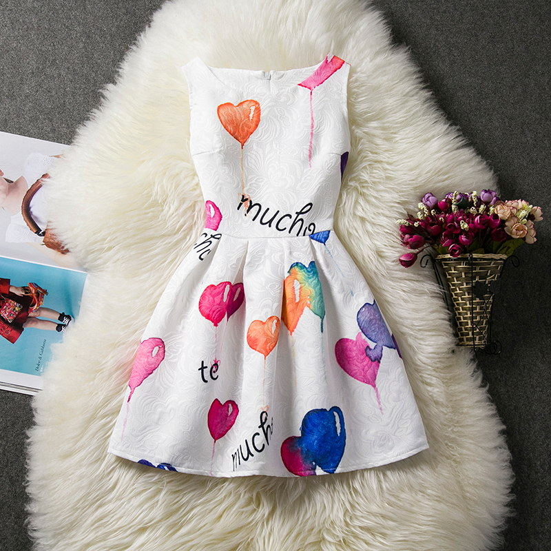 Kids Slim Fitting Gown Floral Knee Length Dresses for Girls Wedding Events Flower Clothing Princess Teenager for Girl's Party
