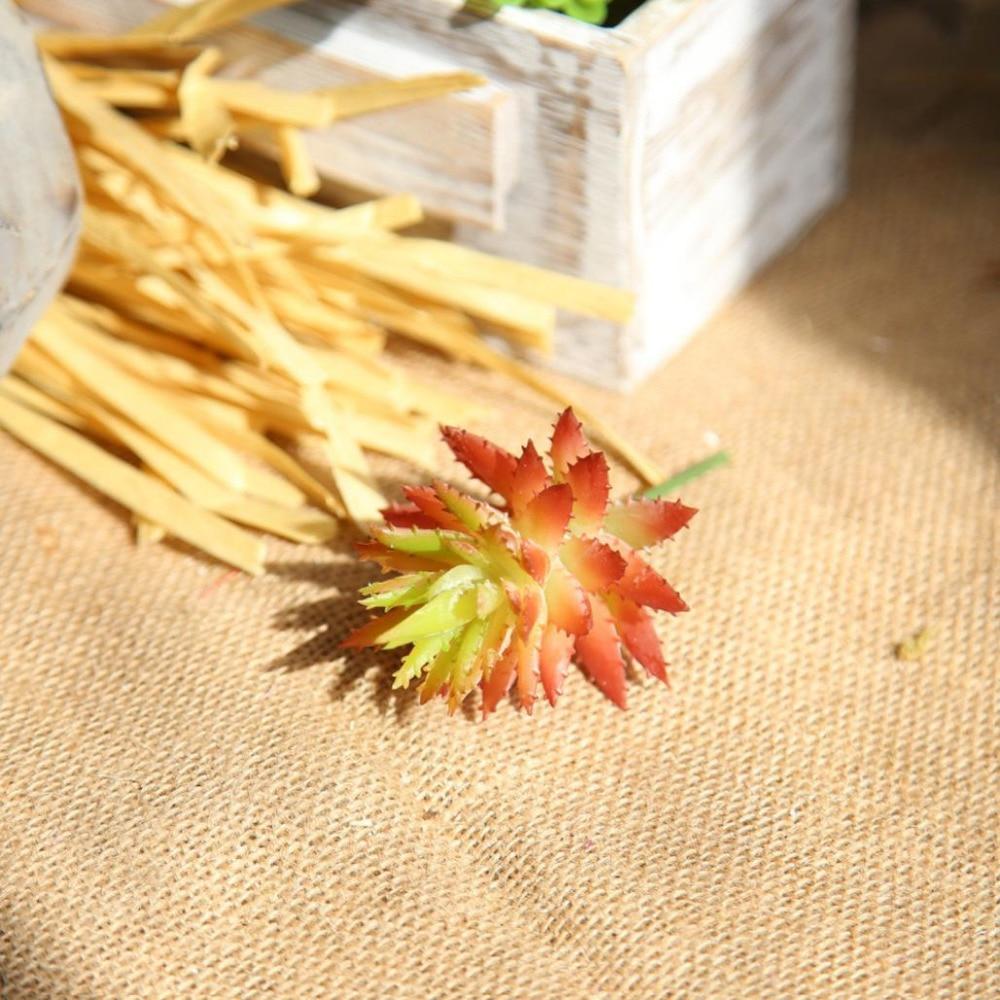 2017 Artificial Fake Flowers Succulents Aloe Vera Floral Wedding ...