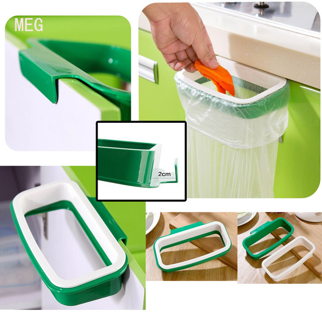 Beau Garbage Bags Holder ,Be Hanging Kitchen Cupboard Door Back Style Stand  Trash, Storage Rack