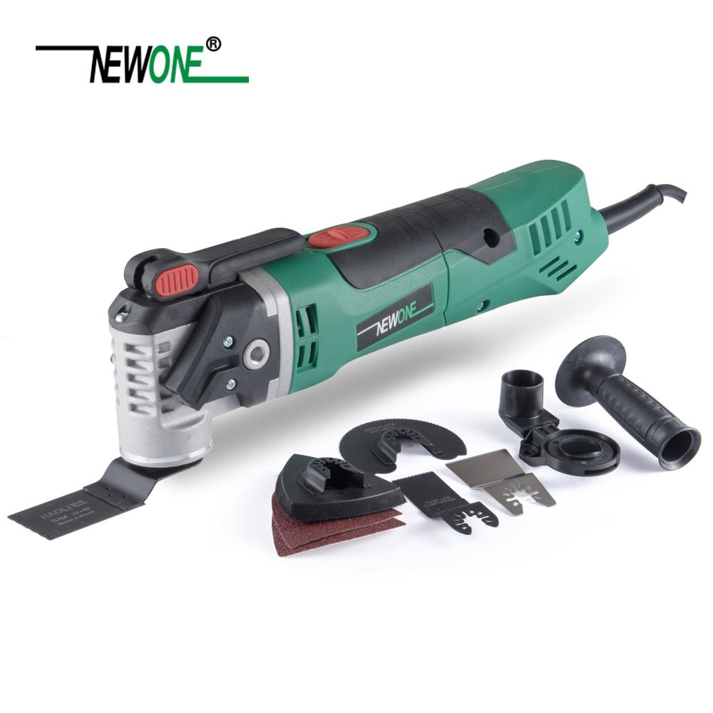 NEWONE Multi-Function Electric Saw Renovator Tool Oscillating Trimmer Home Renovation Tool Trimmer woodworking Tools набор аксессуаров multi tool для инструмента renovator уцененный товар
