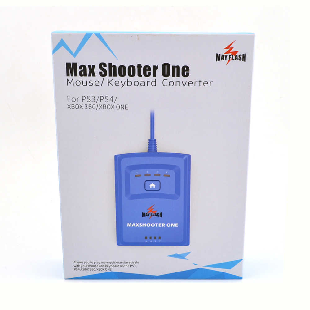 Detail Feedback Questions about Mayflash Max Shooter ONE Mouse