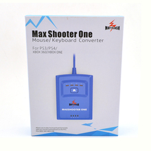 8in1 Max Shooter UM Rato de alta qualidade/placa Chave adaptador Conversor para Xbox one/PS4/PS3/ XBOX 360 Promp Voz tvibration