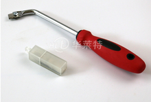 PVC Floor Slotting Knife Manual Conner Grooving Knife Necking Tool With 10Pcs Blades