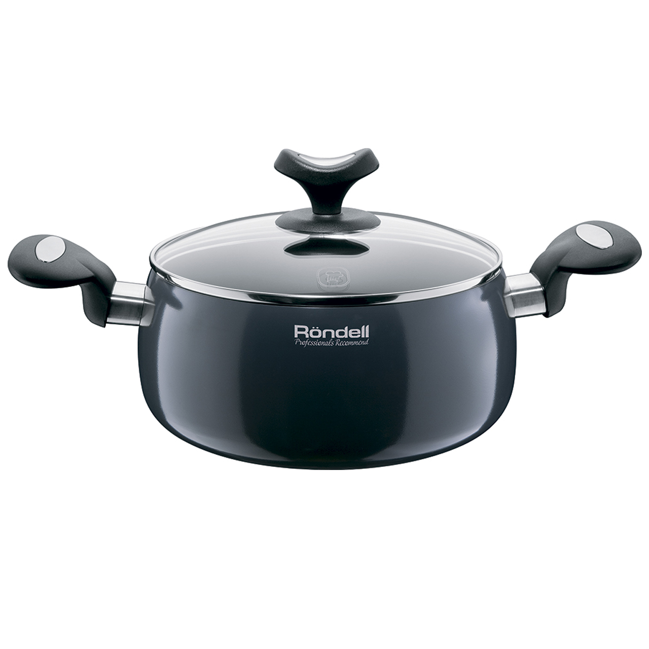 Casserole with lid Rondell Delice 24 cm (5,1 L) RDA-078 rondell кастрюля rondell delice rda 078 5 1 л m 0s d5jr