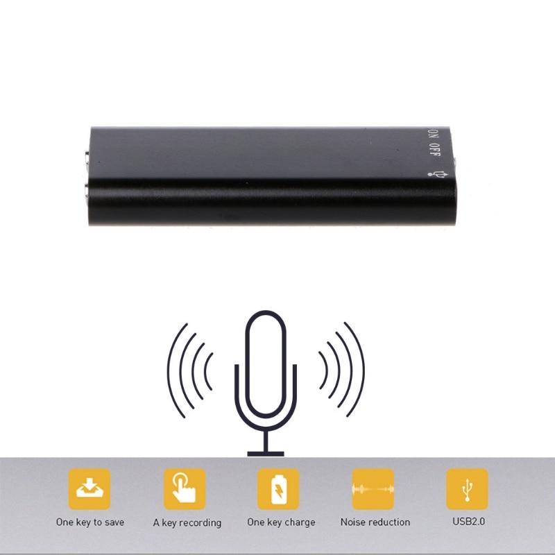 2018 высокое качество 3 в 1 8 ГБ Мини цифровой Аудио Диктофон MP3 музыкальный плеер USB флэш-накопитель