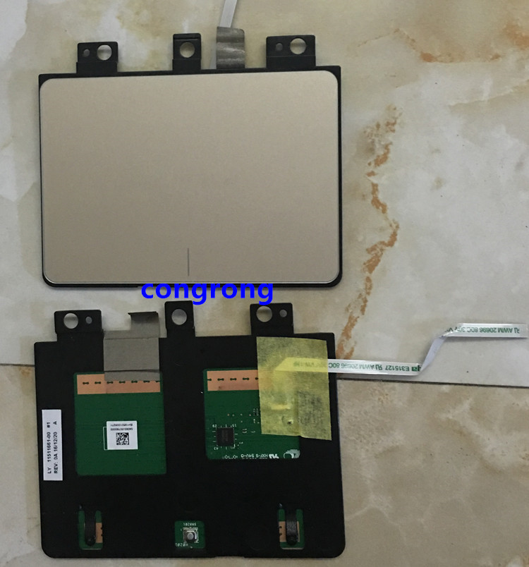 95% New Touchpad For ASUS X540L X540LJ X540LA D540Y F540U Touchpad Touch Pad Mouse Left & Right Button Board