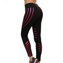 New Style Leggings Woman Fitness Leggings Women Light Fitness High Elastic Shine Pants Compression Leggins