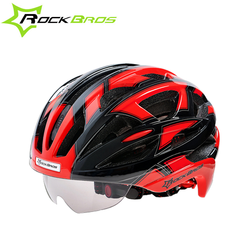 ROCKBROS MTB Bicycle Cycling Helmet EPS Mountain Bike Helmet For Men Road Bicycle Casque Velo Route Super Light Casco Ciclismo outdoor eyewear glasses bicycle cycling sunglasses mtb mountain bike ciclismo oculos de sol for men women 5 lenses