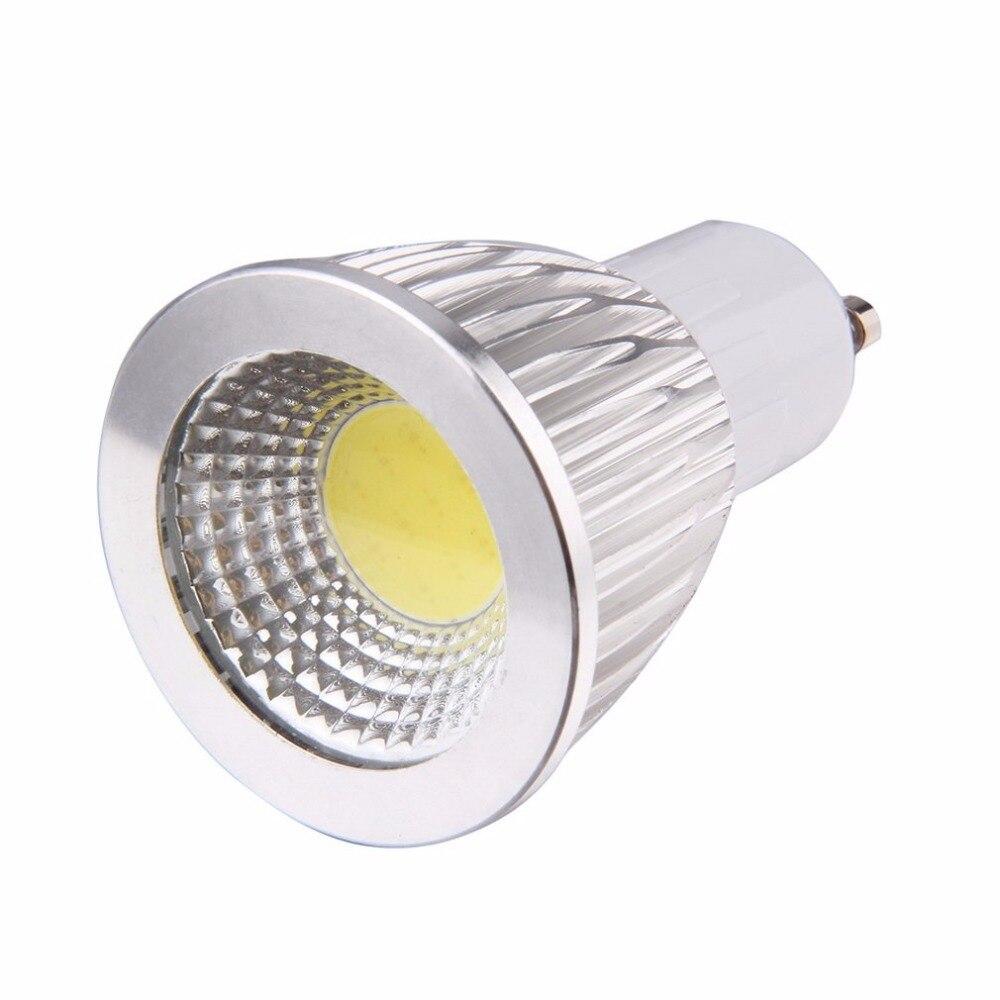 ICOCO COB Spotlight LED Bulb 3W/ 5W/ 7W GU10 Lampada LED Lamp Pure White 85V-265V Light table Lamp bombillas led neon light