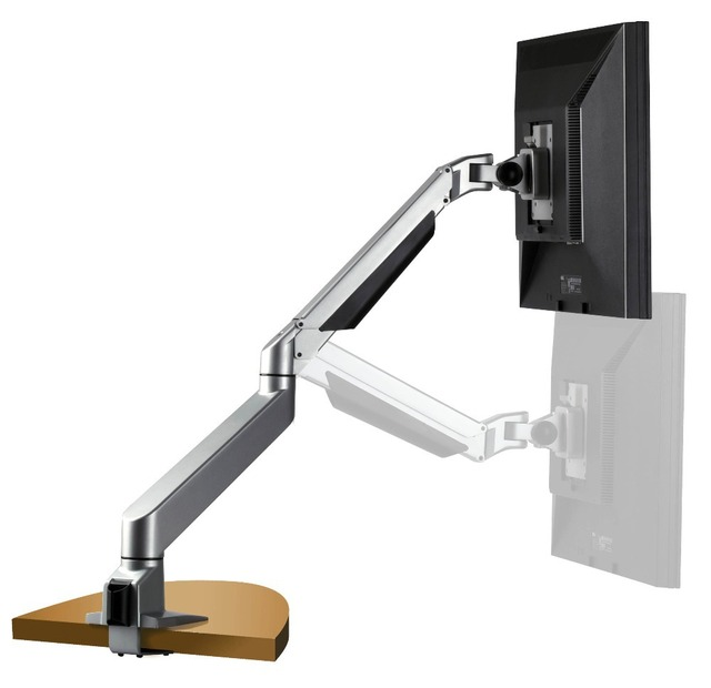 Thinkwise S100 Full Motion Desk Mount Gas Lcd Monitor Arm
