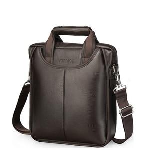 Image 3 - VORMOR marka PU skórzane torby męskie moda mężczyzna Messenger torby męskie małe teczki człowiek dorywczo torebka na ramię Crossbody
