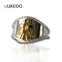 925 Sterling Silver Jewelry Eagle Bird Ring For Men And Women Birthday Gift Mens Signet Rings
