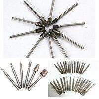 tungsten carbide burs diamond tool set diamond burs dental lab tungsten steel grinding drill rotary tool burr dremel accessories