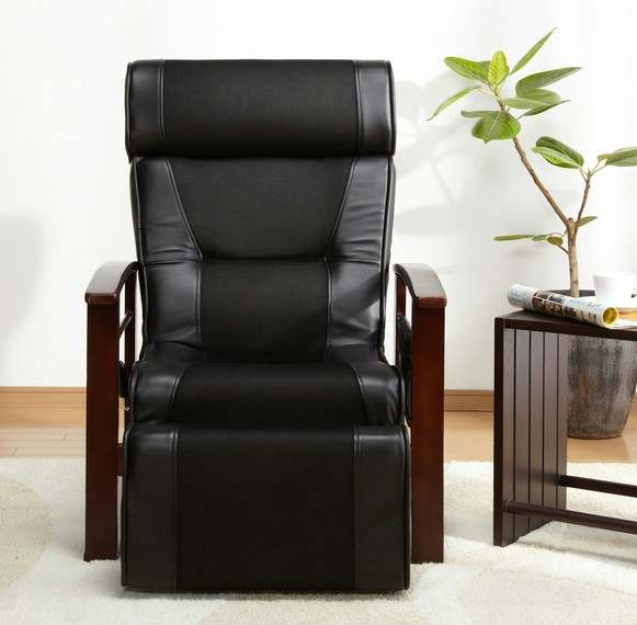 US $269.0 |Height Adjustable Leather Recliner With Pull Out Stool Living  Room Modern Reclining Sofa Chair Armchair Furniture For Elderly-in Living  ...