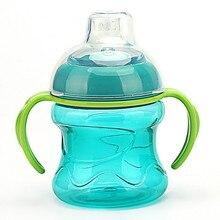 Обучающая бутылочка с трубочкой для питья и воды, обучающая чашка mamadeira, чашка для кормления ребенка, 280 мл