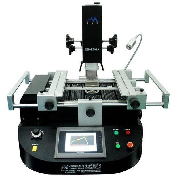 ZhuoMao ZM-R5830 Three heating <font><b>Zone</b></font> touch screen <font><b>control</b></font> panel Hot <font><b>air</b></font> BGA Rework Station