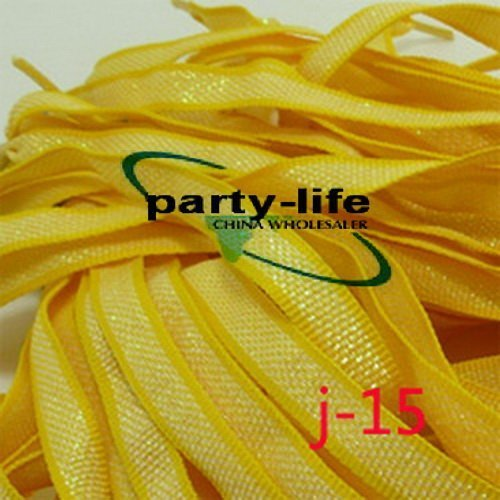 J-15) Flat Shoelaces Glittering Braid Shoe laces for Sneakers ,100pairs/lot