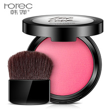 купить ROREC 4 Colors blush easy to wear blusher waterproof long-lasting cheek blusher mineral Makeup Pressed Powder Beauty Cosmetics дешево