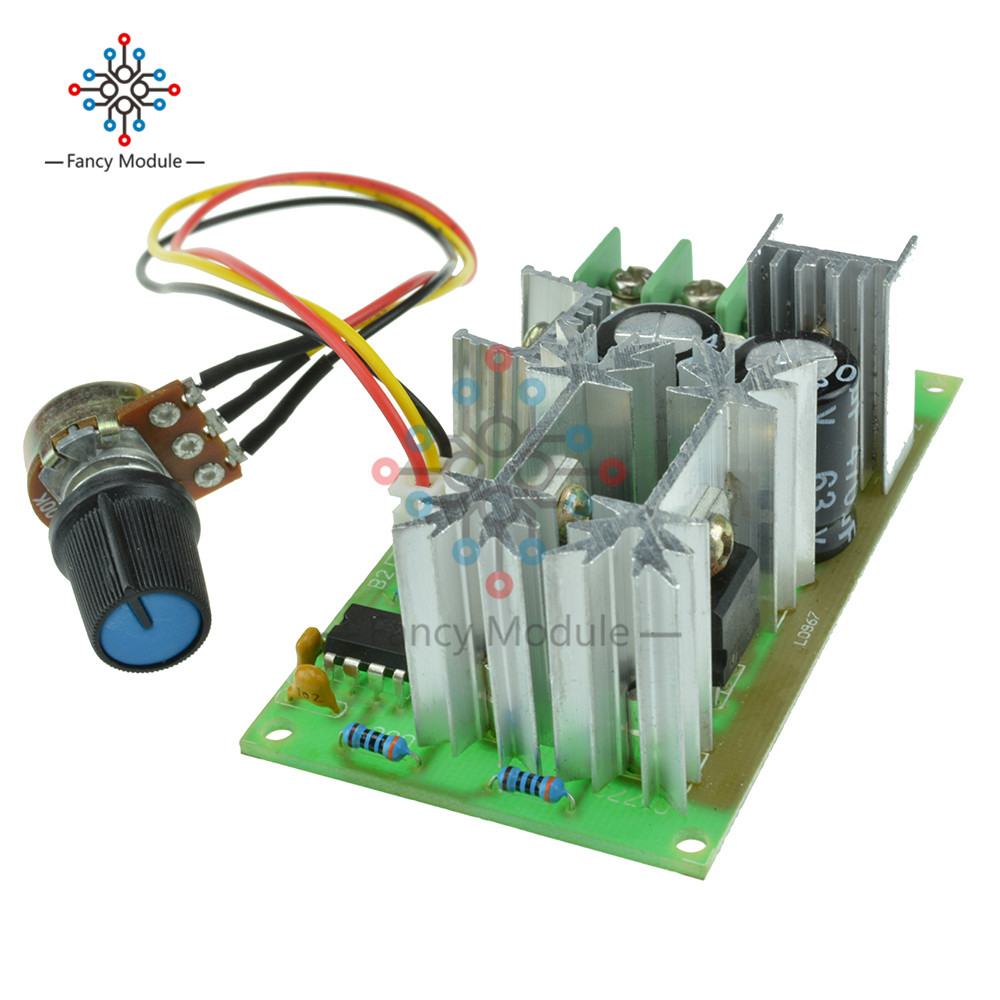 Flight Tracker Hotsale Universal Dc10-60v Pwm Hho Rc Motor Speed Regulator Controller Switch 20a Orders Are Welcome. Electronic Components & Supplies