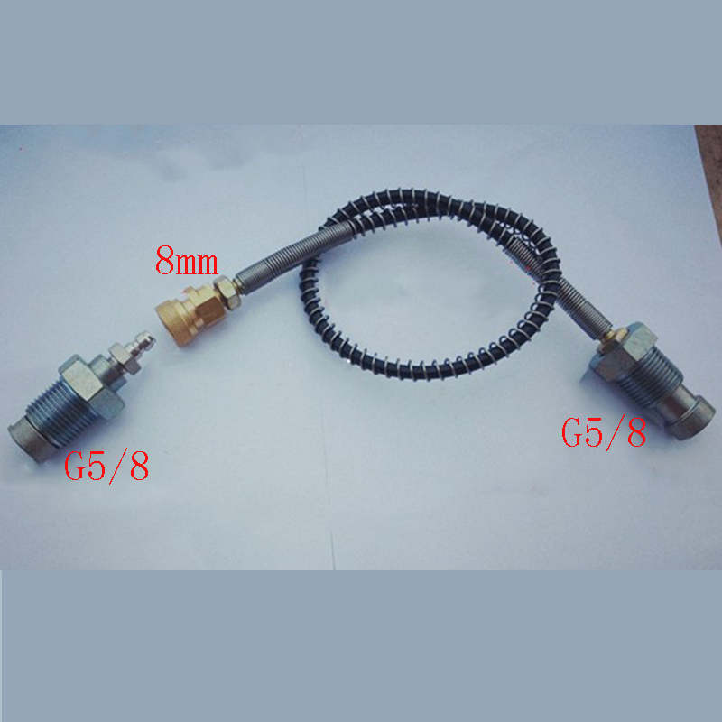 300 Bar 4500Psi Pcp Airforce Din Fill Station For Pcp Tanks Air Fill G5 8 Carbon