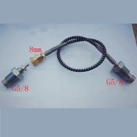 300 Bar/4500Psi Pcp Airforce Din Fill Station For Pcp Tanks Air Fill G5/8 Carbon fiber connector