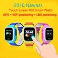 GPS smart watch детские часы Q90 с Wifi сенсорный экран SOS Вызова Расположение DeviceTracker для Kid Safe Anti-Потерянный Монитор