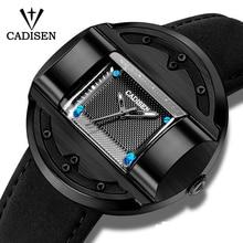 CADISEN Men's Watches New Luxury Brand Watch Men Fashion Sports Quartz Watch Male Clock Man Business Watch Relogio Masculino все цены