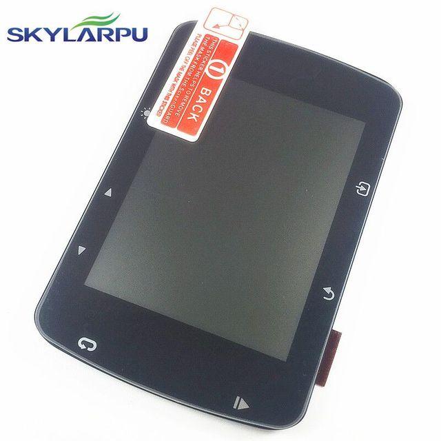 Skylarpu 자전거 스톱워치 lcd 화면 garmin 가장자리 520 520j 자전거 속도 측정기 lcd 디스플레이 화면 패널 수리 교체