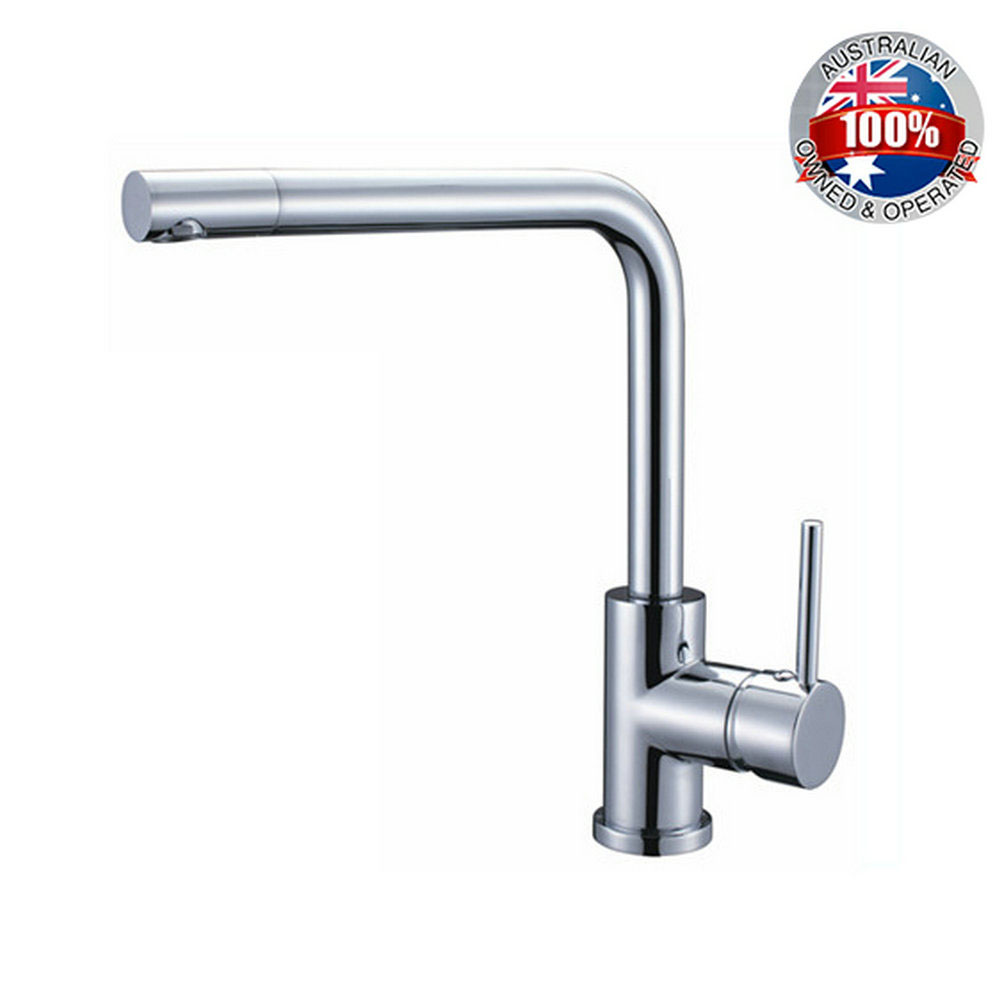 AU 360 Swivel Spout Chrome Brass Taps Deck Mounted Vessel Sink Mixer Tap Kitchen Basin Sink Faucet Hot & Cold Mixer good quality chrome brass water kitchen faucet swivel spout pull out vessel sink single handle deck mounted mixer tap mf 376