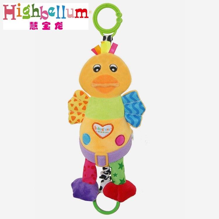 Baby Kids Plush Rattle Toys Կրթական Երաժշտական - Խաղալիքներ նորածինների համար - Լուսանկար 5