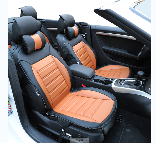 free shipping wholesales fiber leather car seat cover for jaguar xf