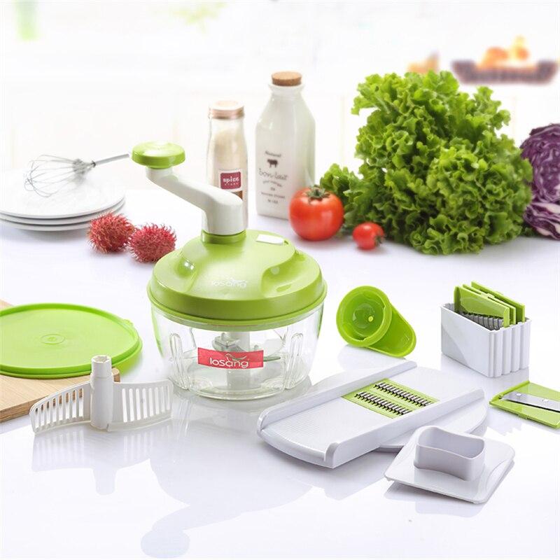 Compra manual food shredder online al por mayor de china mayoristas de manual food shredder - Picadora alimentos ...