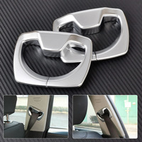 Chrome B Pillar Seat Belt Decoration Cover Trim For BMW 3 4 Series