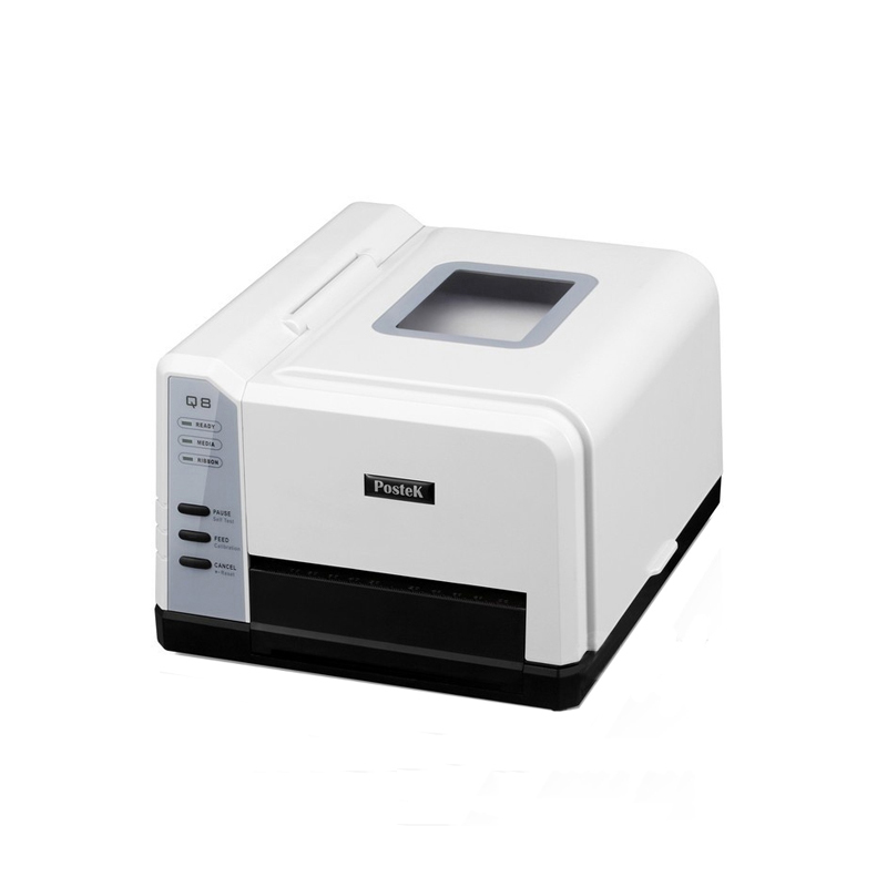 300DPI label printer 110mm QR code transfer printer specianized for printing mini Jewelry Tag, washing mark with free software packaging and labeling