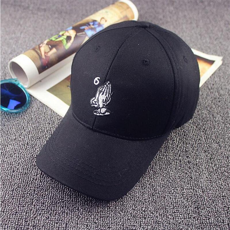 Pray God Mark Drake 6 October Baseball Streetwear Pigalle ovo White Pompom Pain Wiz Khalifa Palace Gianni Mora Snapback Hat