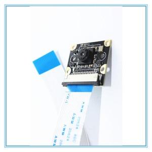 Image 3 - Ahududu Pi 3B kamera modülü 1080p 5MP gece görüş kamera + 2 adet kızıl ötesi sensörü LED ışık ahududu Pi 3/2 model B