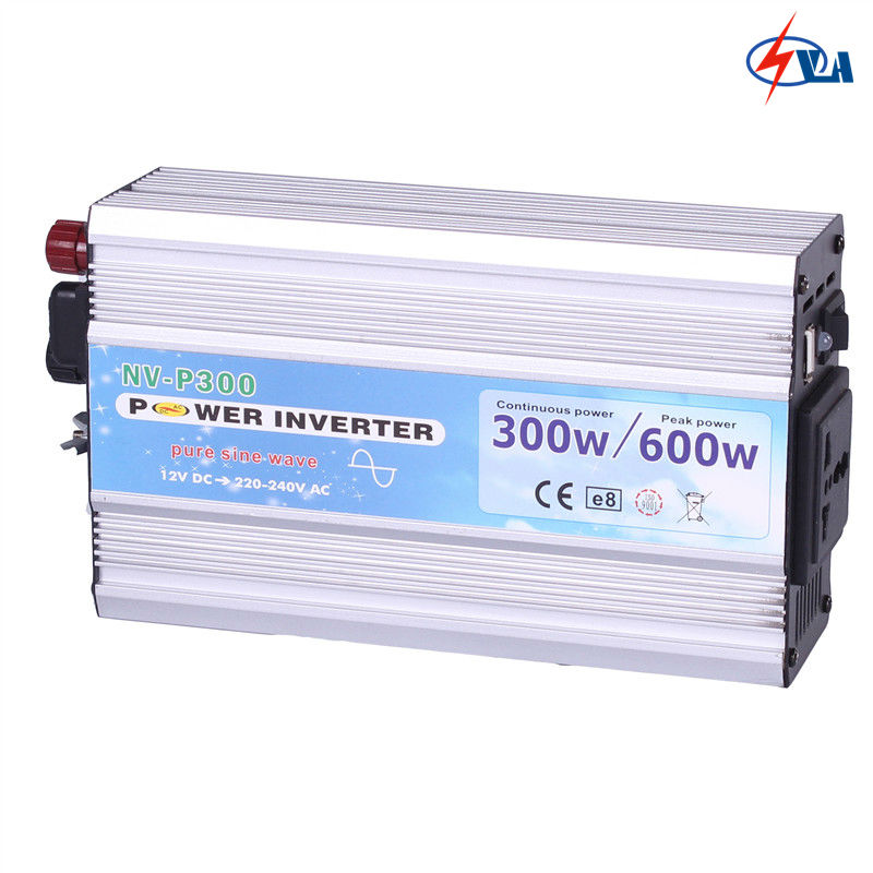 P300 12V/24V dc to 110V/220V ac 300w pure sine wave inverter 1pcs lot sh b17 50w 220v to 110v 110v to 220v