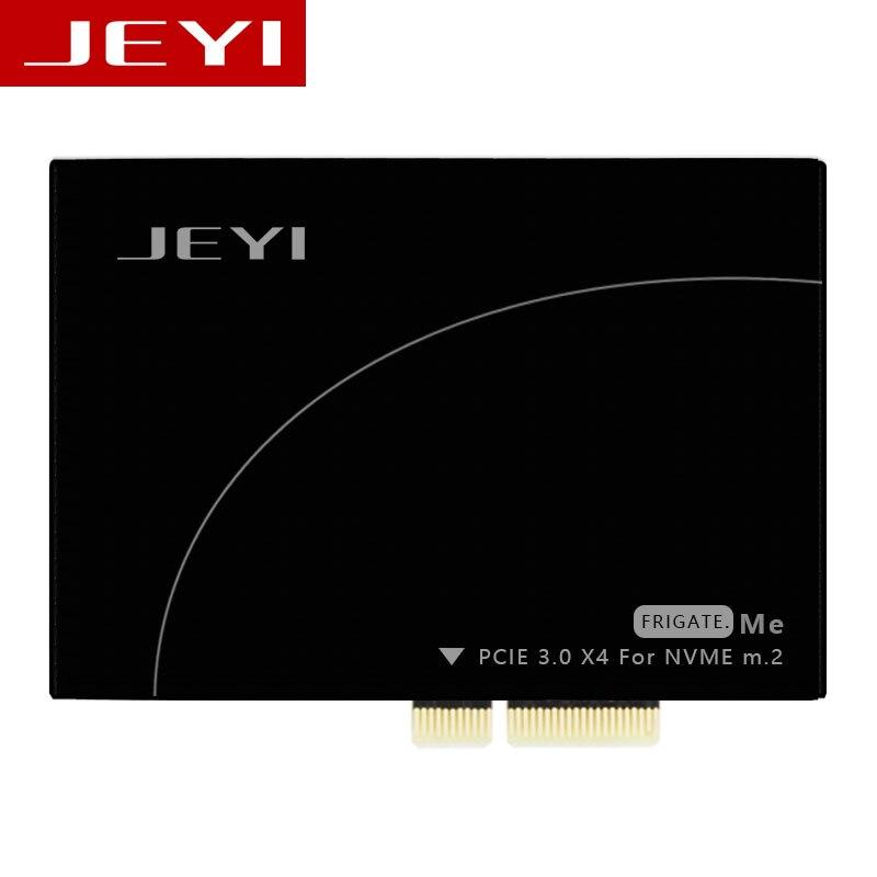 JEYI Frégate No 1 M.2 NVMe SSD NGFF PCIE 3.0X4 Adaptateur M Clé interface carte Suppor PCI-Express x4 2280 Taille m.2 PLEINE VITESSE