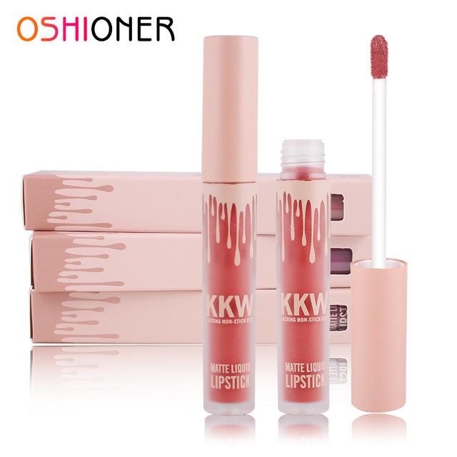 OSHIONER 12 Colors  Waterproof Long Lasting Liquid Non-Stick Lipstick