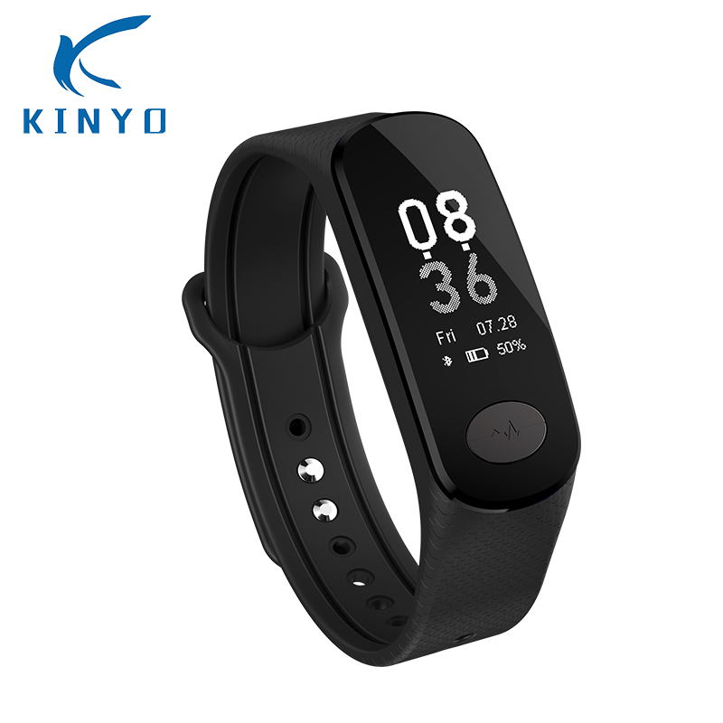 Smart band wristband color screen ECG blood pressure bracelet green light heart rate monitor sleep monitoring pk xiomi mi band 3 mysterious green head heart bracelet